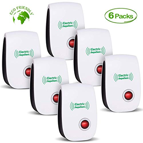 HomeSweety Ultrasonic Pest Repeller, Electronic Plug-in Ultrasonic Pest Control, Best Pest Repellent for Cockroach, Rodents, Flies, Roaches, Ants, Mice,Spiders, Fleas