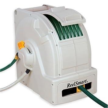 100 foot garden hose. No Crank RS10001 Classic 100-Foot Water Powered Retractable Garden Hose Reel 100 Foot