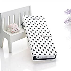 Buy Luxury Pattern Wallet Leather Case for iPhone 5/5S (Assorted Colors) , Pink