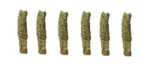 New Age Cedar Smudge Stick - Pack of 3 smudge sticks x2, total 6 sticks