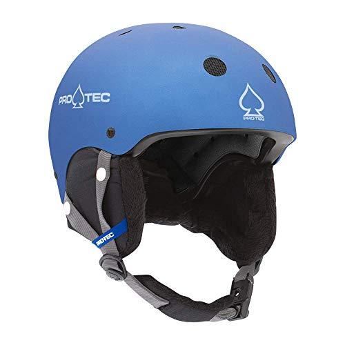 ProTec Junior Classic Certified Snow Helmet - Metallic Blue (XS)