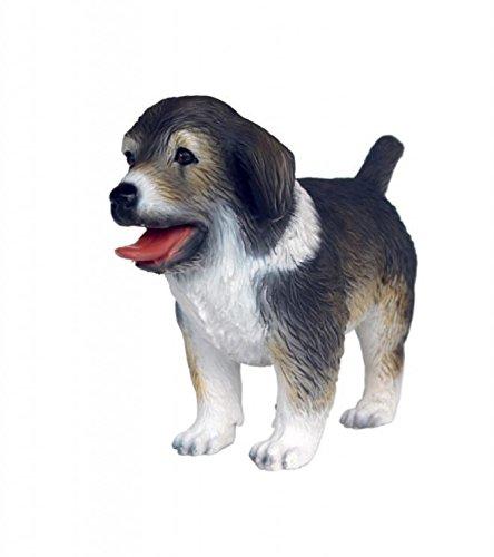 Statue Prop Display - Australian Shepherd Standing Puppy Resin Dog Statue Display Prop Decor