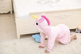 Z-Chen Unicorno Accappatoio con Cappuccio Bambina e Bambino
