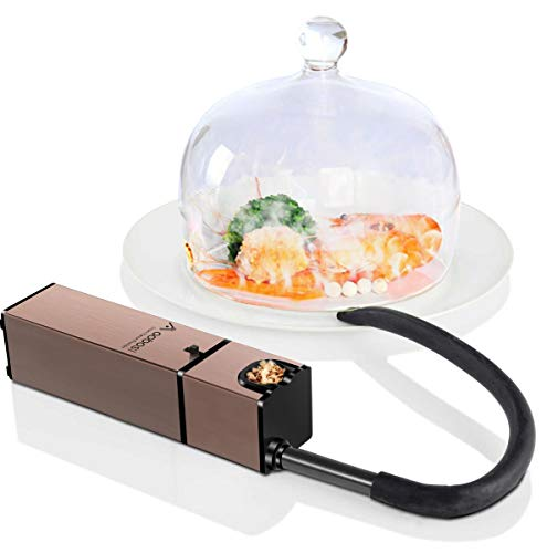 AAOBOSI Aobosi Portable Infusion Smoker,Handheld Smoking Gun for BBQ, Sous Vide, Meat, Veggies, Fruit, Cocktail,Cheese Mini Food Smoker for Indoor and Outdoor Gatherings,Fashion Design