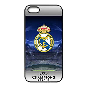 Personal Customization Real Madrid Logo Cell Phone Case for Iphone 5s