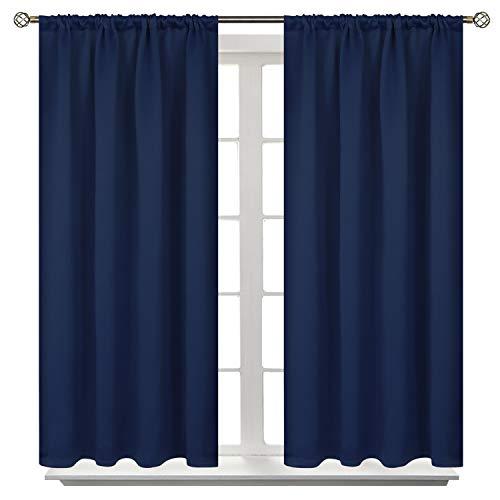 BGment Rod Pocket Blackout Curtains for Bedroom