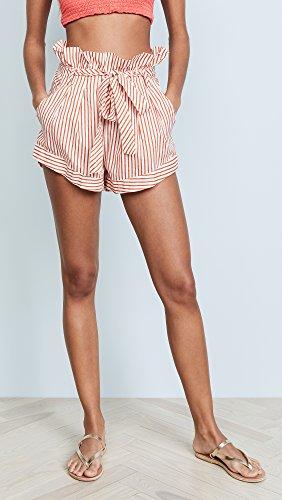 For Love & Lemons Women's Isla Striped Shorts, Stripe, Large by For Love & Lemons (Image #2)