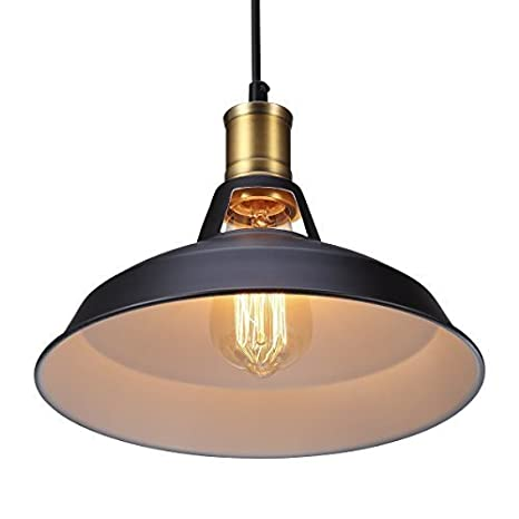 B-right Vintage Metal Pendant Light Hanging Ceiling Light, Dia 11 ...