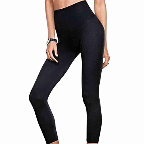 Flexees 1644 Fat Free Dressing Legging Black Size - 2XL