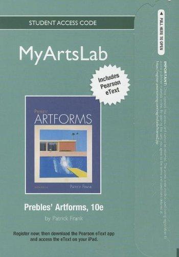 Prebles Artforms Pdf