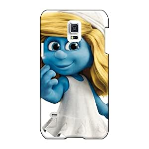 Bumper Hard Cell-phone Cases For Samsung Galaxy S5 Mini With Customized Beautiful The Smurfs Mm Hd Pictures IanJoeyPatricia