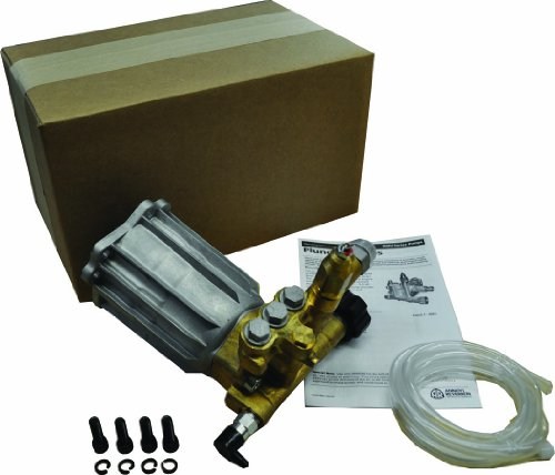 (Annovi Reverberi Pressure Washer Replacement Pump, 2.5 Max GPM, 3000 PSI, RMV25G30-EZ-PKG, Easy Start)