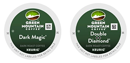 Green Mountain Coffee -- Mystical MAGIC & DOUBLE BLACK DIAMOND -- Extra Bold Variety Pack 48 K-Cups for Keurig Brewers
