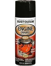 Rust-Oleum 248932 Automotive 12-Ounce 500 Degree Engine Enamel Spray Paint, Gloss Black