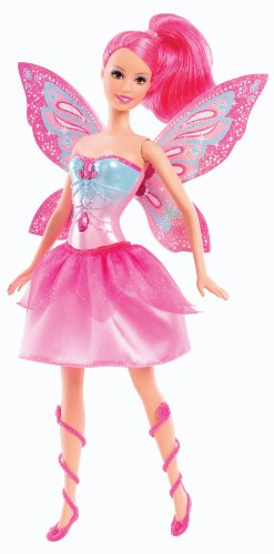 Barbie Mariposa and The Fairy Princess Friends Doll, Pink (Doll Pink Fairy)