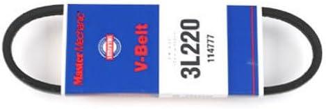 GATES CORPORATION 3L220 MM 22x3//8 FHP V Belt