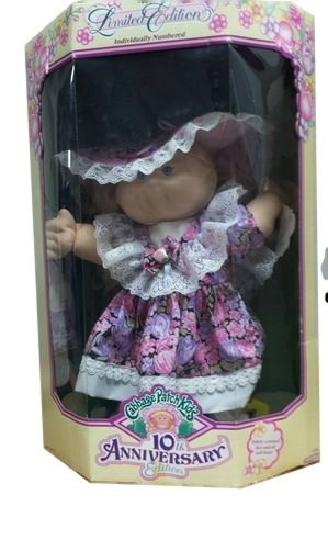 Cabbage Patch Kids Limited 10th Anniversary Edition. Individually Numbered.