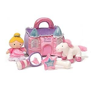 "Baby GUND Princess Castle Stuffed Plush Playset, 8"""