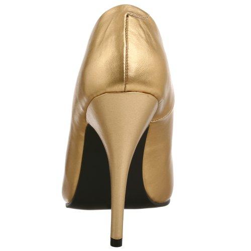 Pleaser Damen Seduce-420 Pumps Gold