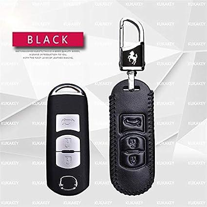 Amazon.com: Funda de piel para llave inteligente de coche ...