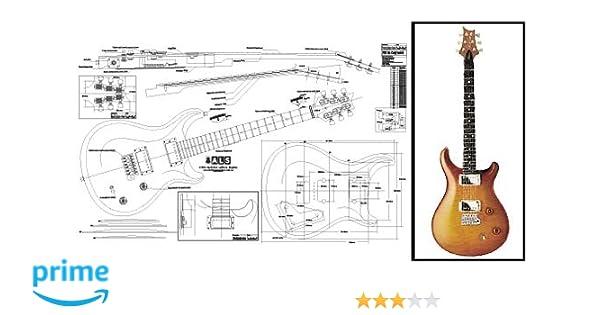 Plan de PRS McCarty guitarra eléctrica - escala completa impresión: Amazon.es: Instrumentos musicales