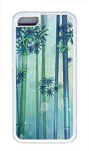 Bamboo Custom iPhone 5C Case Cover TPU White