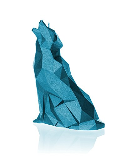 Candellana Candles Candellana-Wolf Candle, Blue Metallic by Candellana Candles (Image #2)