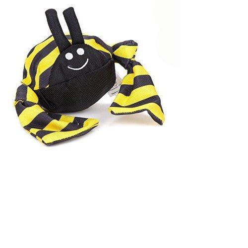 Jolly Pets Jolly Tug Bumble Bee Tug/Squeak Toy, Medium