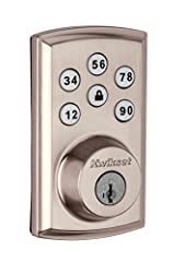 The Smart Code touchpad smart lock with Home Connect technology enables the lock to wirelessly communicate with other devices in home. The lock allows the user (through a third party smart home controller) to remotely check the door lock stat...