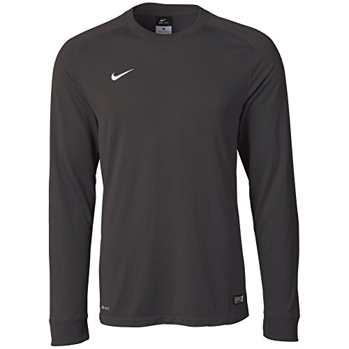 Nike Men's Long Sleeve Park Goalie II Soccer Goalkeeper Jersey (Large) Black