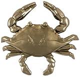 Blue Crab Door Knocker - Nickel Silver (Premium Size)