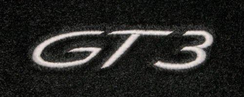 Lloyd Mats Ultimat Porsche 911 (GT3) Custom Embroidered GT3 Floor Mats 1999 2000 2001 2002 2003 2004 2005 2006 2007 2008 2009 2010 2011 2012 2013 2014 2015