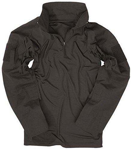 nbsp;– Camisa negro nbsp;Hombre negro Tactical Tec Mil Quemador 1UxP4P