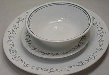 6d5389ddff1ce Amazon.com | Corning Corelle Country Cottage Dinnerware - Set of 12 ...