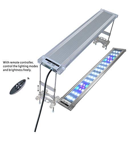 LED Aquarium Lamp RGB Plant Light,with Remote Controller ()