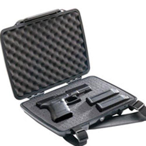 Pistol Case | Pelican P1075 Slim Profile Pistol Case (Black)