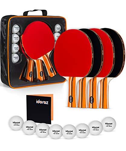 Idoraz Ping Pong Paddles