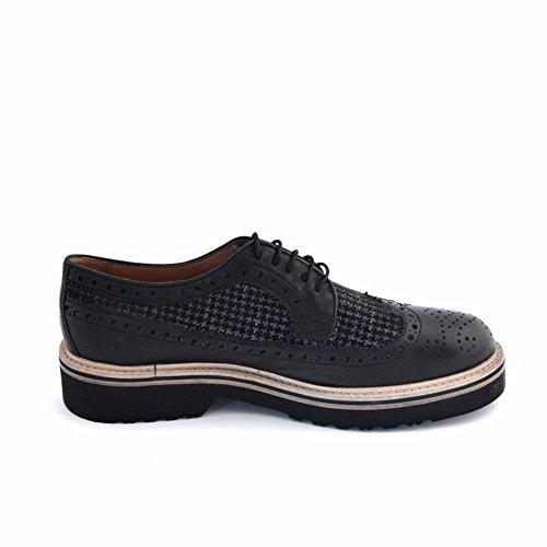 Soldini Zapatos de Cordones de Piel Para Hombre Marrón Marrón Marrón Size: 41 72trH