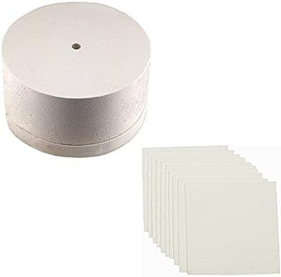 10 hojas papel de horno y horno de microondas para cristal ...