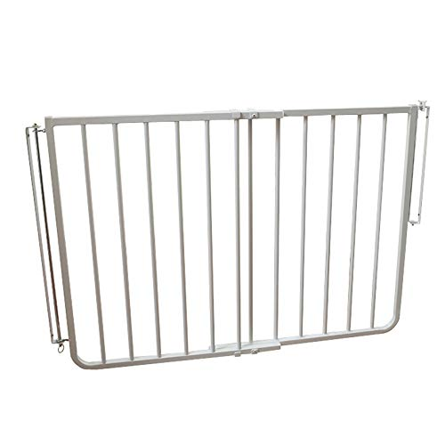 Cardinal Gates Stairway Special Outdoor Child Safety Gate /Model:SS30-ODWH-C /Designed for top of stairway use / Color: White