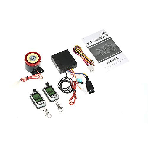 Maintenance Bypass Module - Star-Trade-Inc - 2 Way Motorcycle Alarm System with Remote Engine Start Remote Transmitter Shock Sensor Anti-Theft Security System LCD Display DC