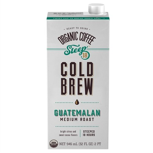 Steep 18 Organic Guatamalan Cold Brew Coffee - 32 Fl. Oz.