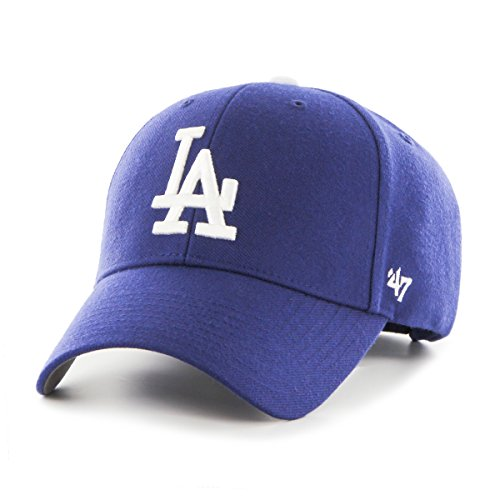 (MLB Los Angeles Dodgers Mvp Adjustable Hat, One Size, Home Color)