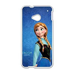 Happy Frozen Princess Anna Cell Phone Case for HTC One M7