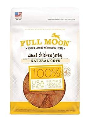 Natural Cut All Natural Human Grade Dog Treats by Full Moon