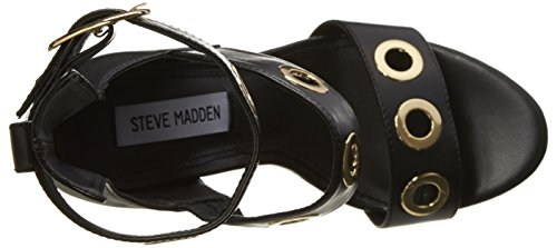 Steve Madden Mysterig Donna US 8.5 Nero Sandalo