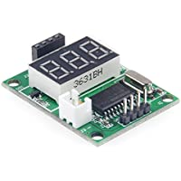 LM YN Ultrasonic Distance Measurement Module Test Board 5V test Board Test HC-SR04 Display Rangefinder [Not including Ultrasonic Distance Measurement Module]