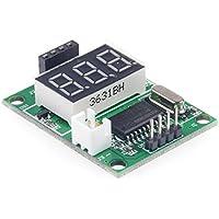 LM YN Ultrasonic Distance Measurement Module Test Board 5V test Board Test HC-SR04 Display Rangefinder [Not including Ultrasonic Distance Measurement Module]