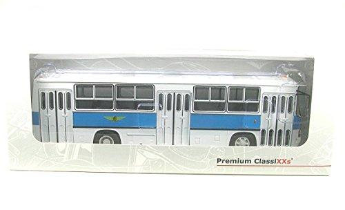 Ikarus 260, Dresdner Verkehrsbetriebe 0 Maßstab: 1:43 - Metall / Kunststoff - Fertigmodell - Premium ClassiXXs