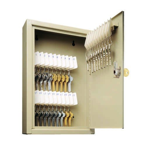 (Mmf Cash Drawer 201-9030-03 MMF Steelmaster Uni-Tag Key Cabinet, 30 Key Capacity, 8